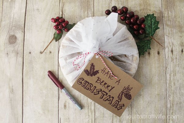 BIC Merry Marking Gift Tag - Laura\'s Crafty Life