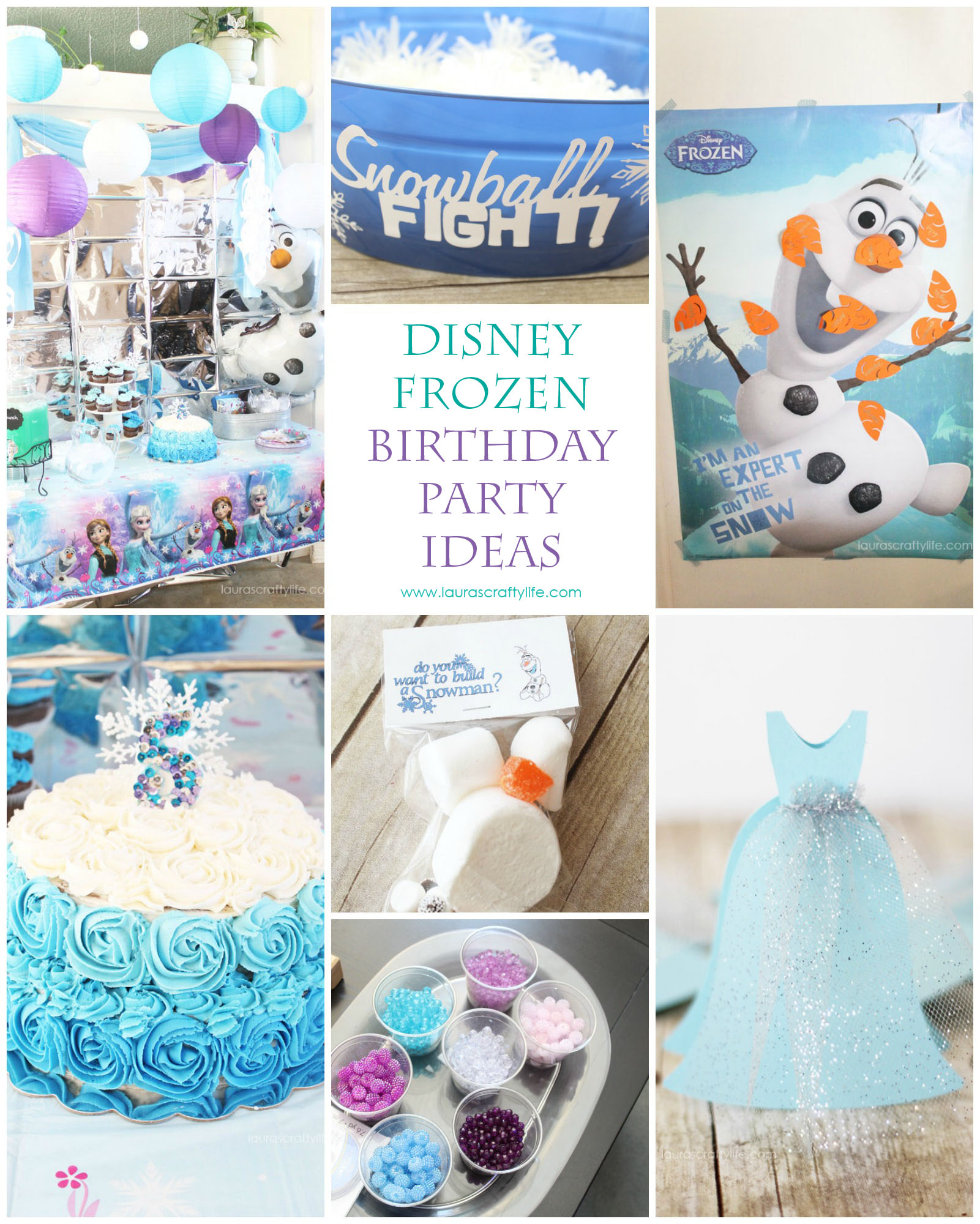Frozen Birthday Party Lauras Crafty Life