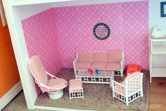 . DIY Barbie House   Laura s Crafty Life