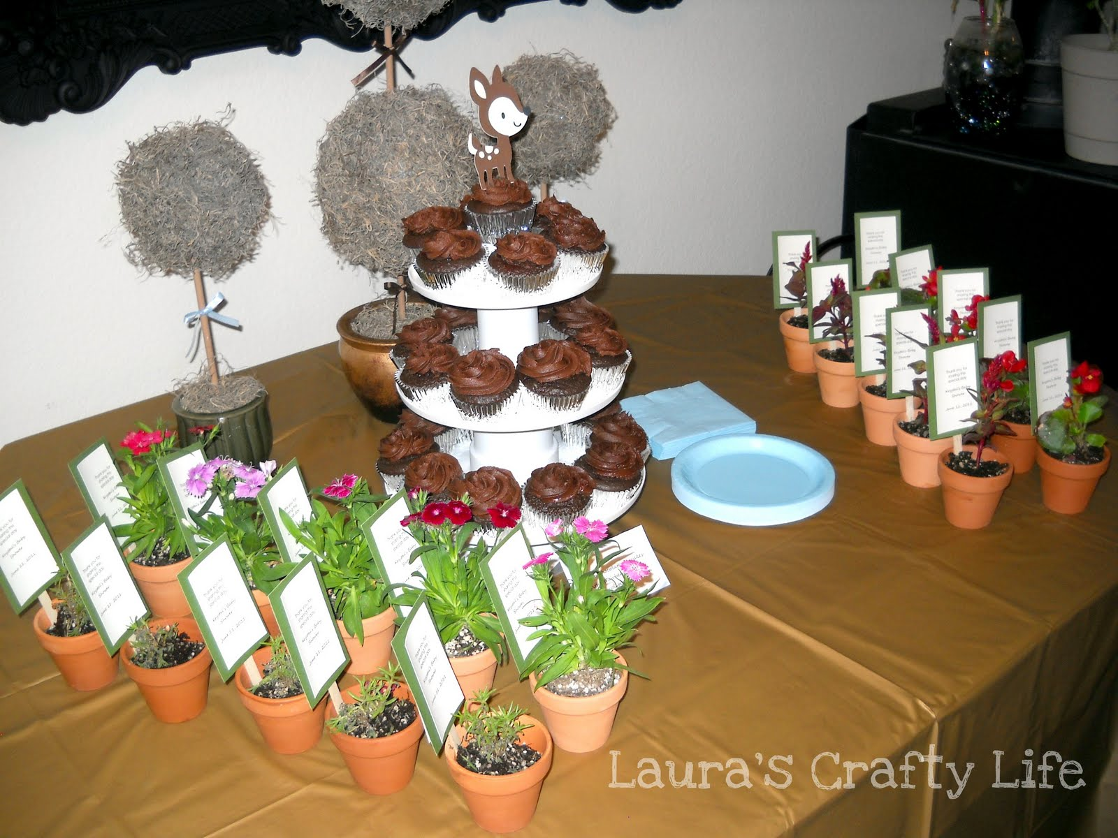 Awesome Enchanted Forest Baby Shower